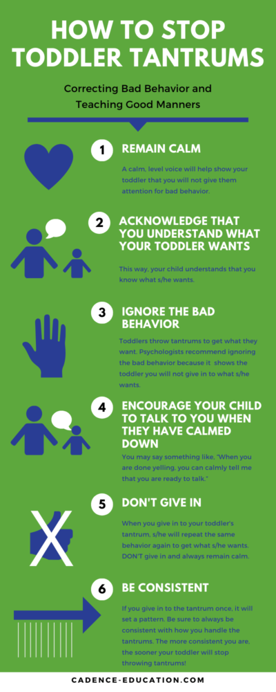 how to stop toddler tantrums