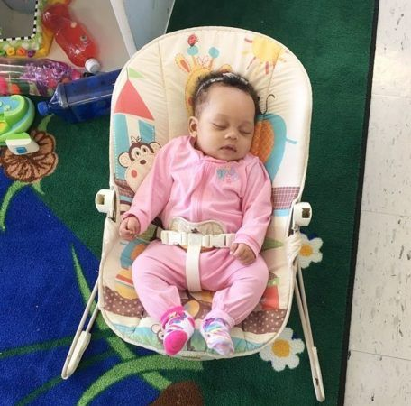 infant_sleeping_in_bouncer_at_cadence_academy_preschool_lexington_sc-456x450