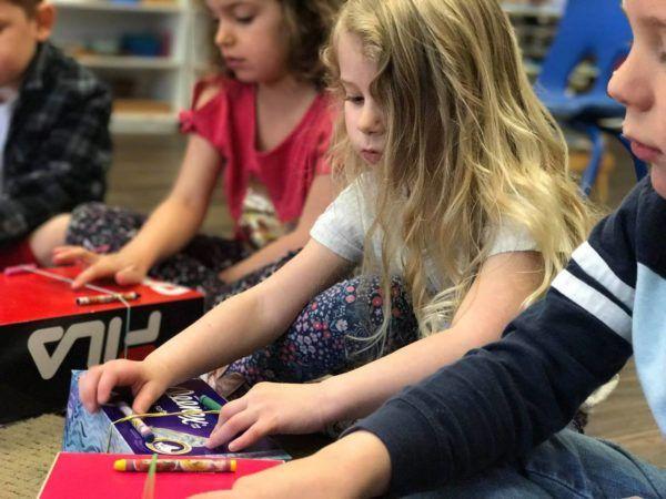kleenex_box_musical_instrument_childrens_garden_montessori_richland_wa-600x450