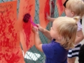 outside_paint_roller_art_project_cadence_academy_preschool_harbison_columbia_sc-600x450