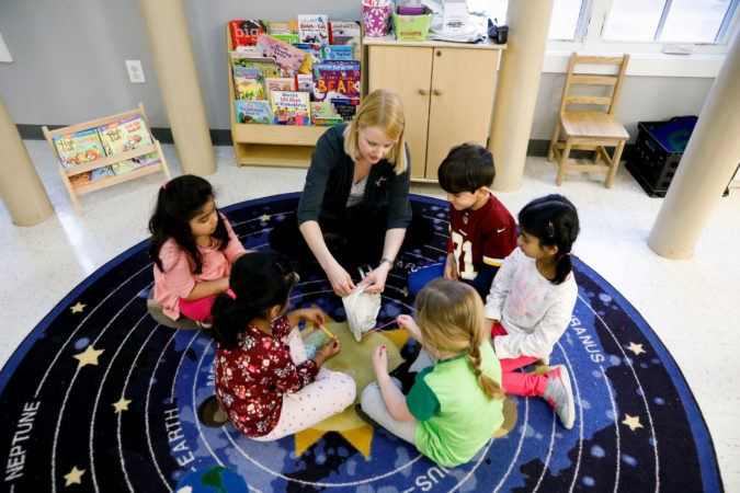 preschool_children-and-teacher_doing_a_craft_together_winwood_childrens_center_brambleton_va-675x450
