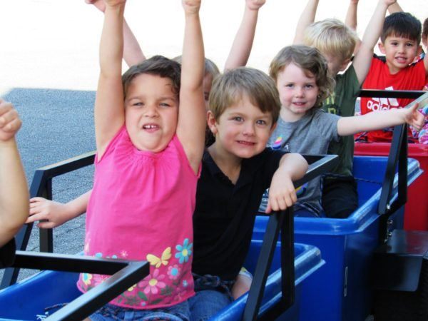 preschool_children_on_train_cadence_academy_preschool_harbison_columbia_sc-600x450