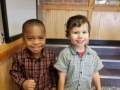preschool_friends_near_stairs_cadence_academy_preschool_portland_or-600x450